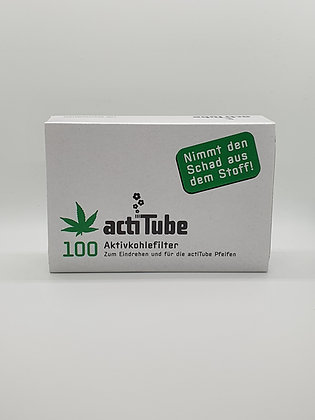 Aktivkohlefilter 100 Stück