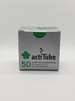Aktivekohlefilter Slim 50 Stück