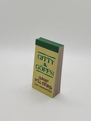Gitty & Göffs  100% Hanfpapier Filter