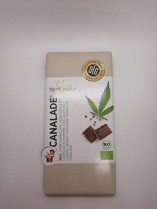 Hanf-Milchschokolade