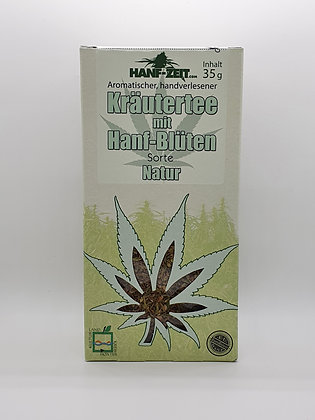 Hanf-Blüten Tee Natur 35g