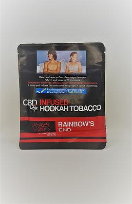 Shisha Tabak mit CBD Rainbow End