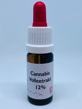 CBD Cannabis Extrakt 12% 10ml