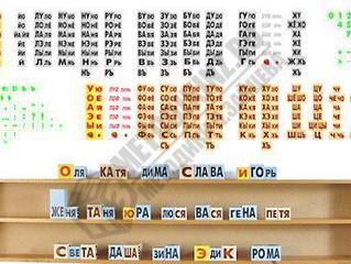 Обучение русскому языку по таблицам Н.А.Зайцева