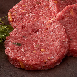 Beef Burger with Cheese & Spring Onion (4)