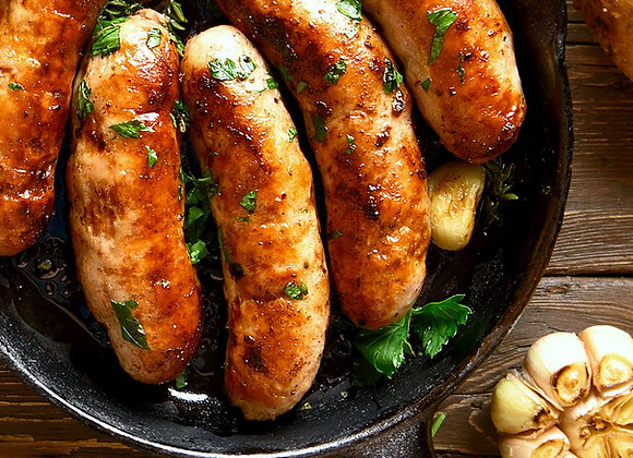 Pork, Mushroom and Garlic Sausage (300g)