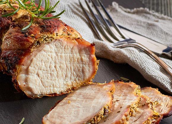 Boneless Loin of Pork (Rind On)