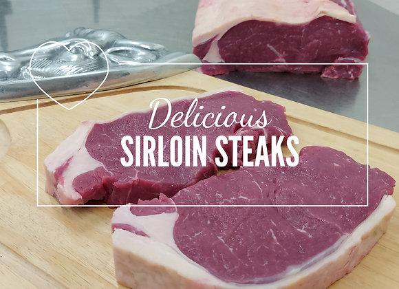 2 x 225g Sirloin Steak Pack