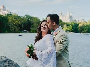 Emoção em elopement wedding no Central Park • Milena e Marcus