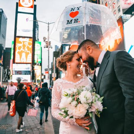 Elopement Wedding em NYC • Vânia e Alexandre