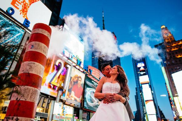 Ensaio trash the dress em NY