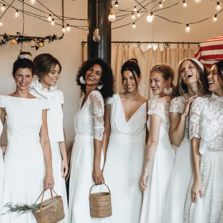 Vestidos de noiva 2020 da designer Laure de Sagazan