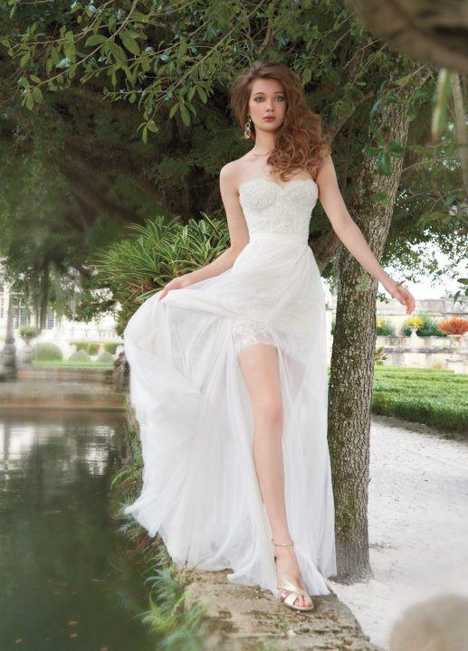 tara-keely-bridal-lace-mini-dress-strapless-sweetheart-gathered-net-overskirt-belt-chapel-train-2502_lg