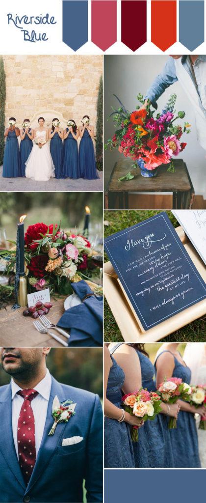 riverside-blue-and-marsala-fall-wedding-color-inspiration