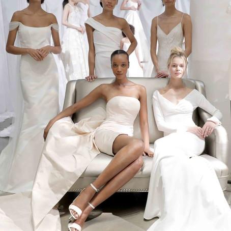 Minimalismo é uma das tendências para vestido de noiva em 2020