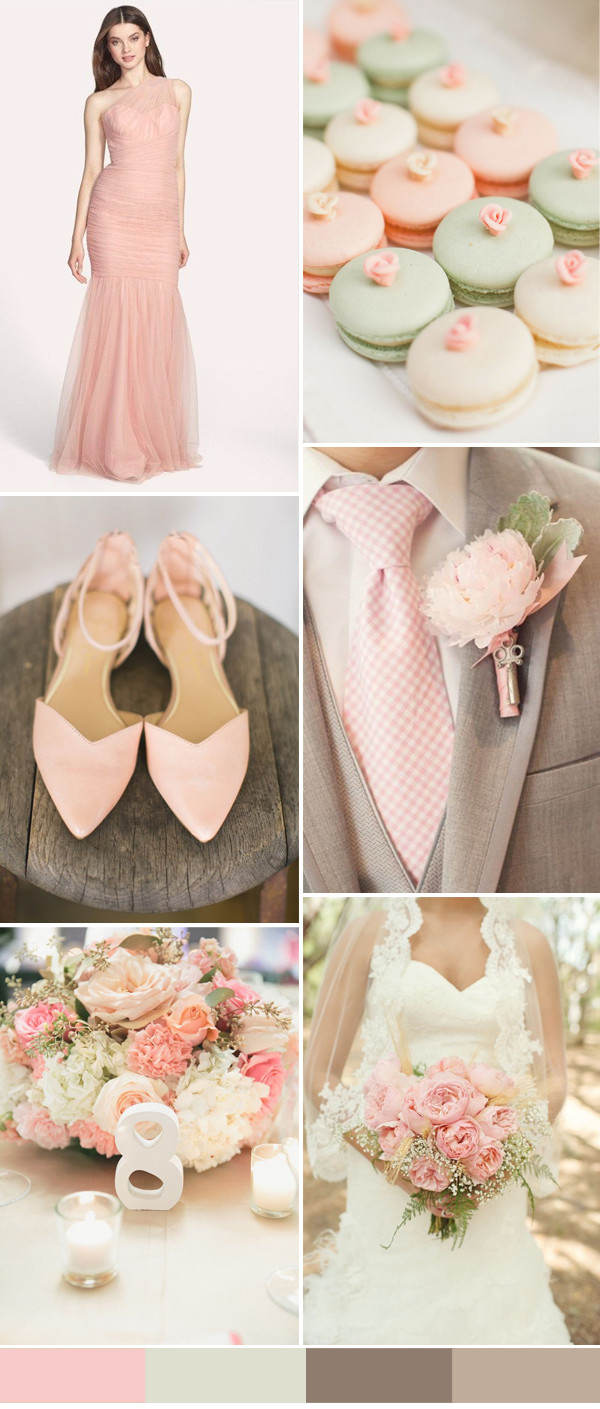 pink-and-brown-wedding-ideas-for-2016-spring-weddings