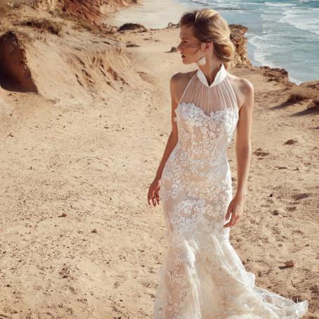 Floral é tendência em vestidos de noiva para 2020