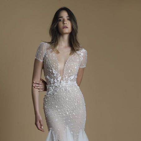 Vestidos de noiva românticos pela designer israelense Liz Martinez