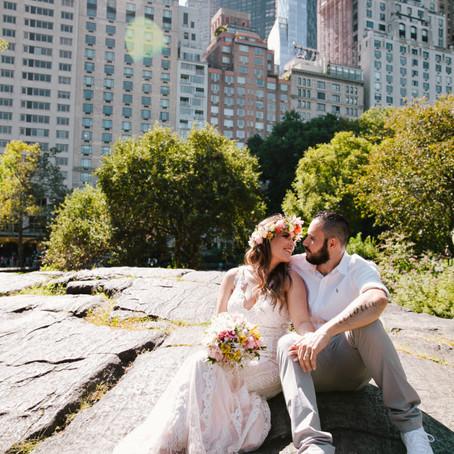 Casamento no Central Park • Jéssica e Tiago