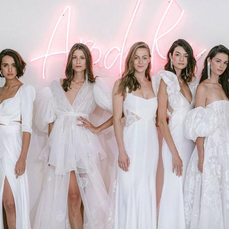 Vestidos de noiva 2020 da designer Rime Arodaky