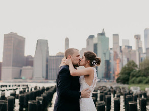 Elopement Wedding em Nova York • Cami e Max