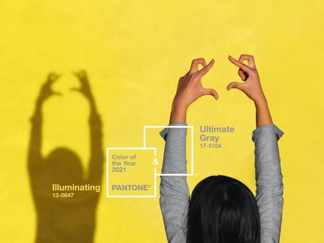 Pantone apresenta a cor de 2021 e reforça otimismo para o próximo ano