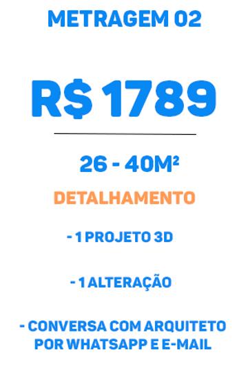 Metragem Premium tipo 02