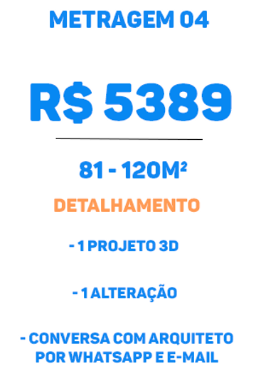 Metragem Premium tipo 04