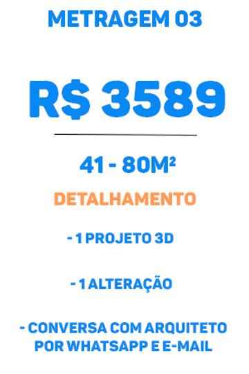 Metragem Premium tipo 03