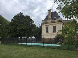 Bordeaux chateau to rent in France with pool & accommodation for weddings
