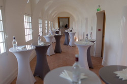Chic wedding venue in French castle around vineyards near Bordeaux