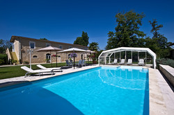SPA & Pool in romantic chateau for rent in France - Bordeaux