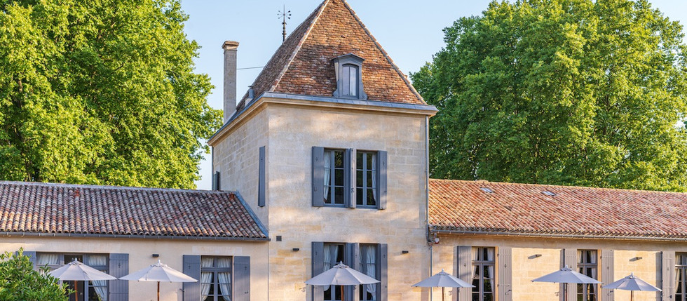 B&B in France, Bordeaux vineyards with pool