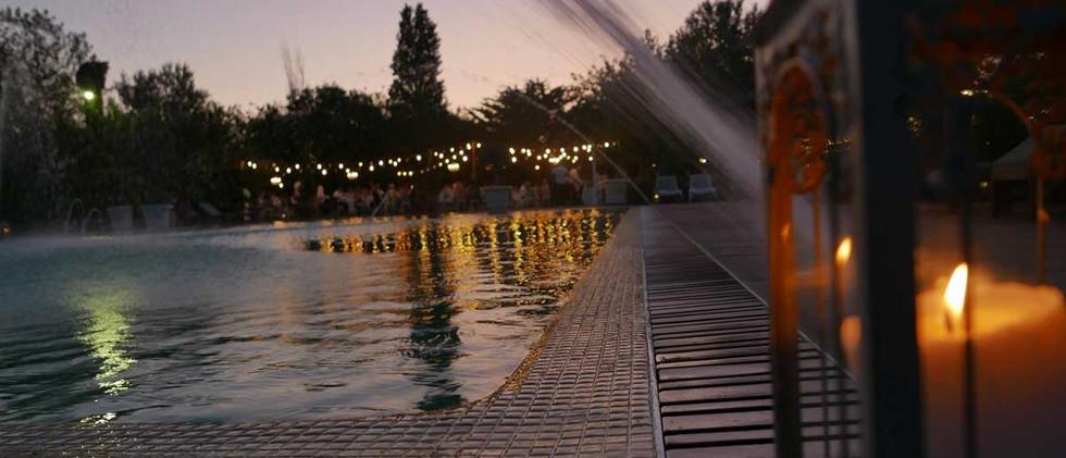 romantic wedding venue in Marbella , south of Spain