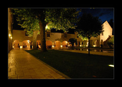large destination wedding in private castle hotel in south of France , with vineyards