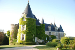 Castle villa to rent for holiday in south of France