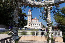 wedding venue in a chateau in south of France , French riviera with bedrooms & pool