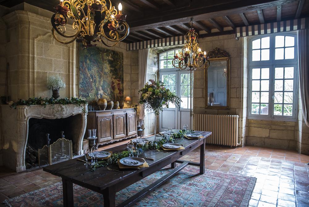 French Chic Vineyard Wedding  (11)