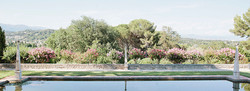 Antibes wedding venue in South of France with pool & garden