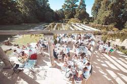 Elegant French wedding venue in a chateau
