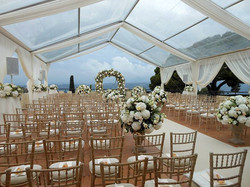 south of France castle to rent for reception events & weddings with panoramic sea view