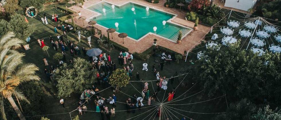 Marbella's romantic wedding venue