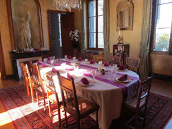 chateau wedding venue to rent with big garden & pool