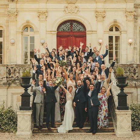 romantic& private destination wedding around bordeaux