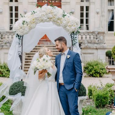 Wedding organisation in French Castle around Bordeaux