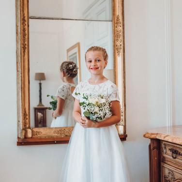 Wedding in French castle in bordeaux