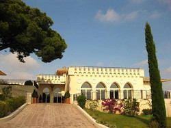 chateau to rent with sea view for wedding venue & events in South of France