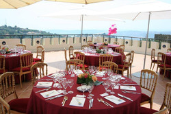 reception room to rent in chateau in France for events and weddings near Nice
