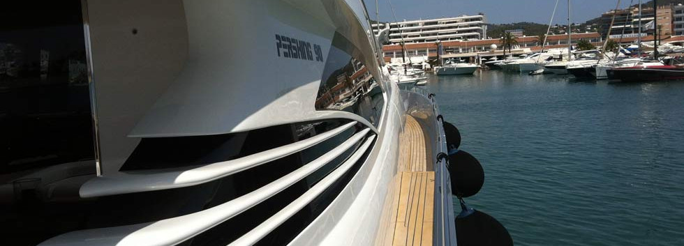 Speed yacht to rent in Mallorca