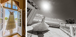 wedding venue in South of France with pool and sea view